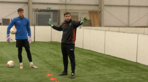 Ross Ballantyne, pre-season / social distancing training